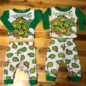 Other - 2 Sets Pajamas Size 12 Months